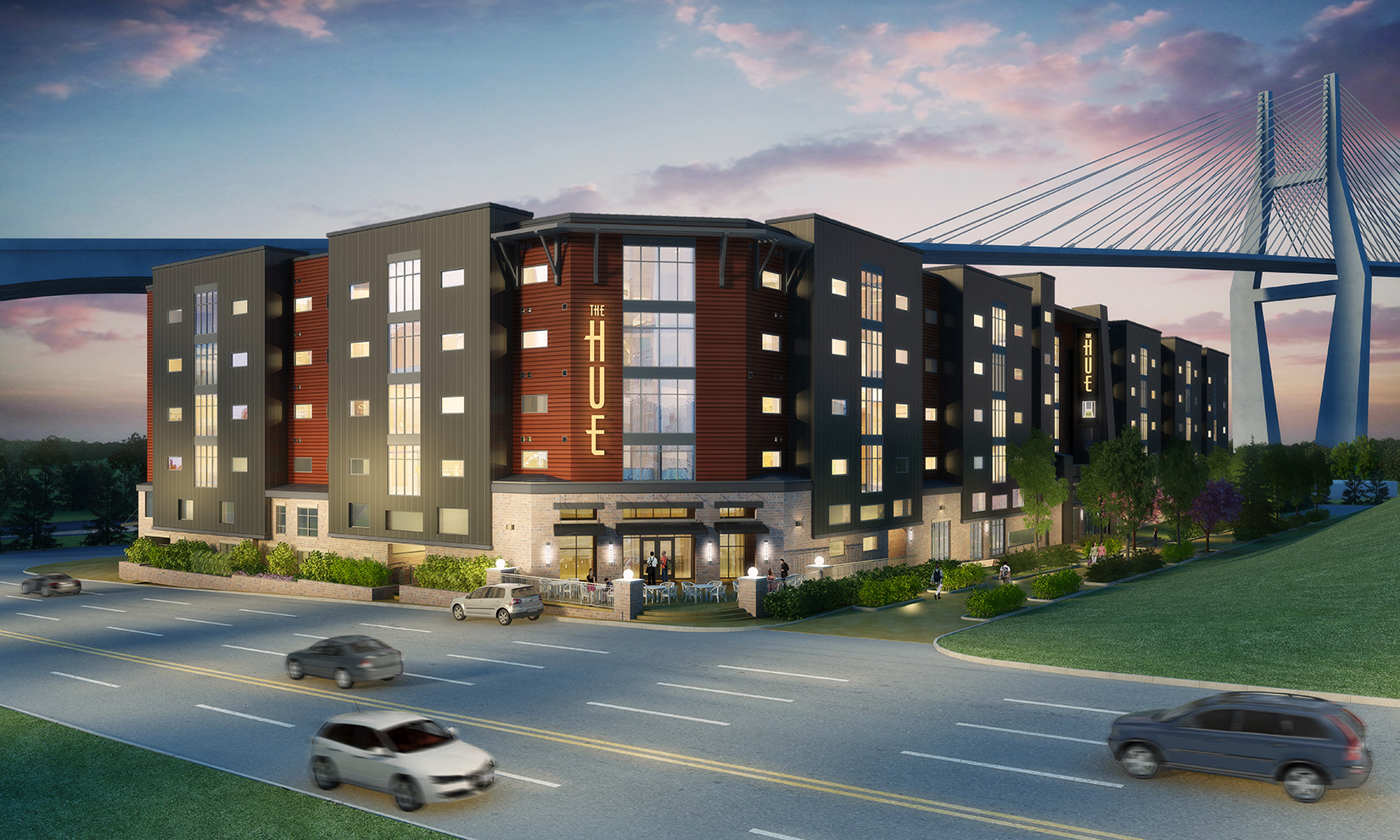 Dorm style apartments target students scad district for Apartments near savannah college of art and design
