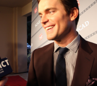 Matt Bomer Red Carpet Interview Smile