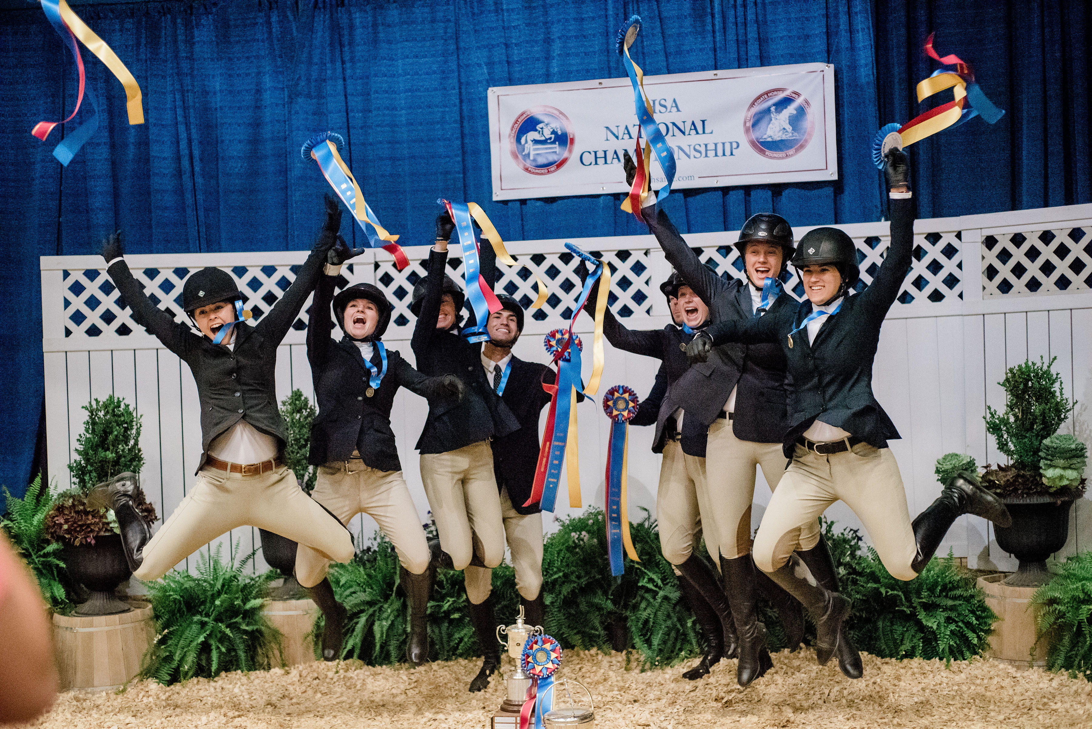 Scad Equestrian Team Conquers Ihsa National Championship