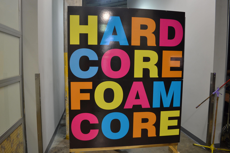 Industrial Design Hosts Popular Hardcore Foamcore