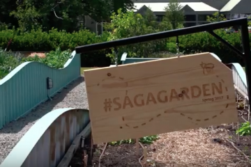 Clubs and Classes Join Forces in SCAD Community Garden