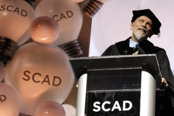 John Malkovich SCAD Commencement