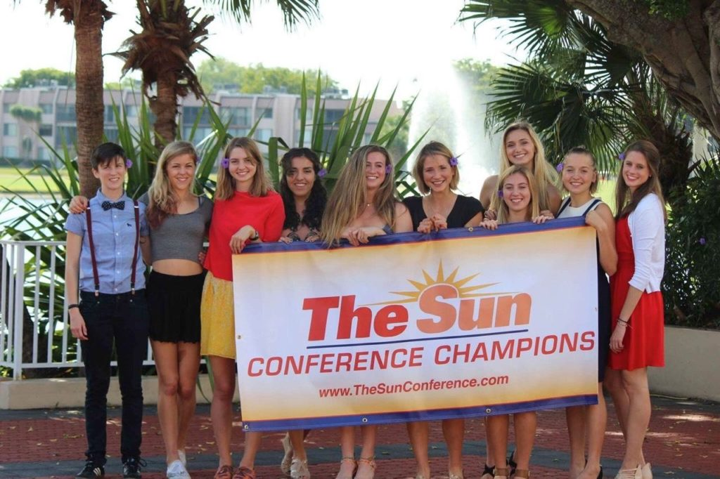 SCAD-women's-cross-country-Sun-conference-champions